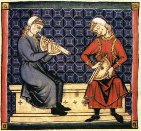 Gli strumenti musicali medioevali musica colta for L organo portativo