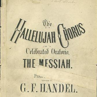 messiah hallelujah chorus by g handel Hallelujah (from 'messiah') (george frideric handel)  notes: this is edition of  choir reduction in original and transposed latin version (d,c.