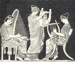Strumenti musicali degli antichi greci musica colta for Vasi antichi romani