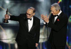 Ennio Morricone e Clint Eastwood